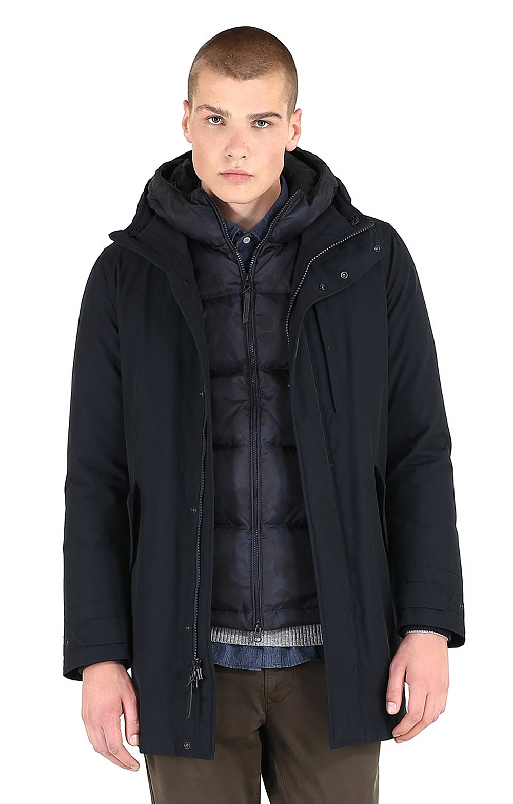 check-out 433a0 4ca6f Men's Woolrich Mountain Parka