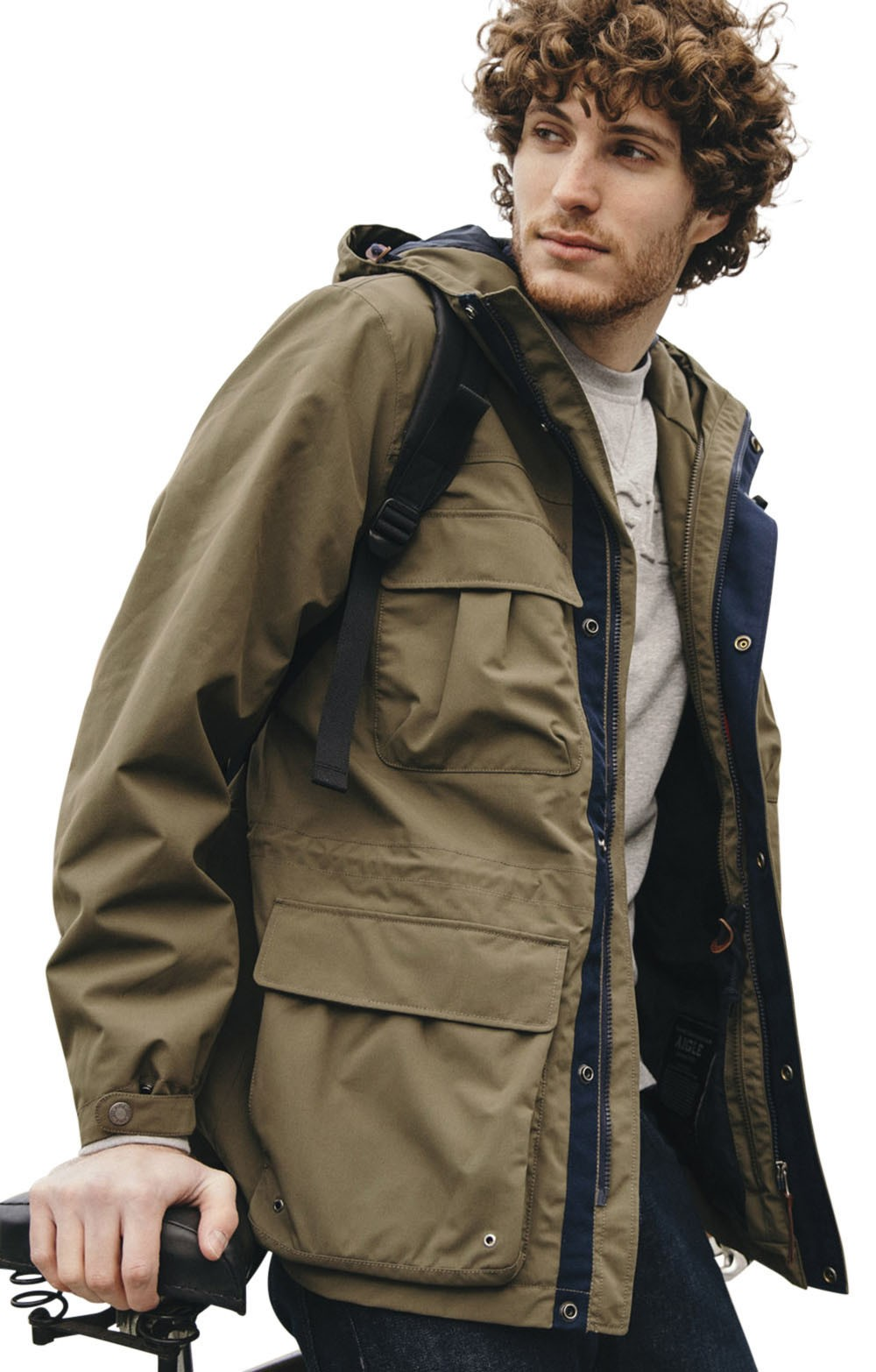 Mens Aigle Birlu Waterproof Safari Jacket House Of Bruar