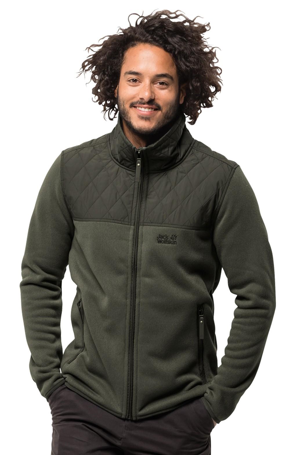 online retailer 345da 24f1f Men's Jack Wolfskin Mackenzie River Fleece Jacket