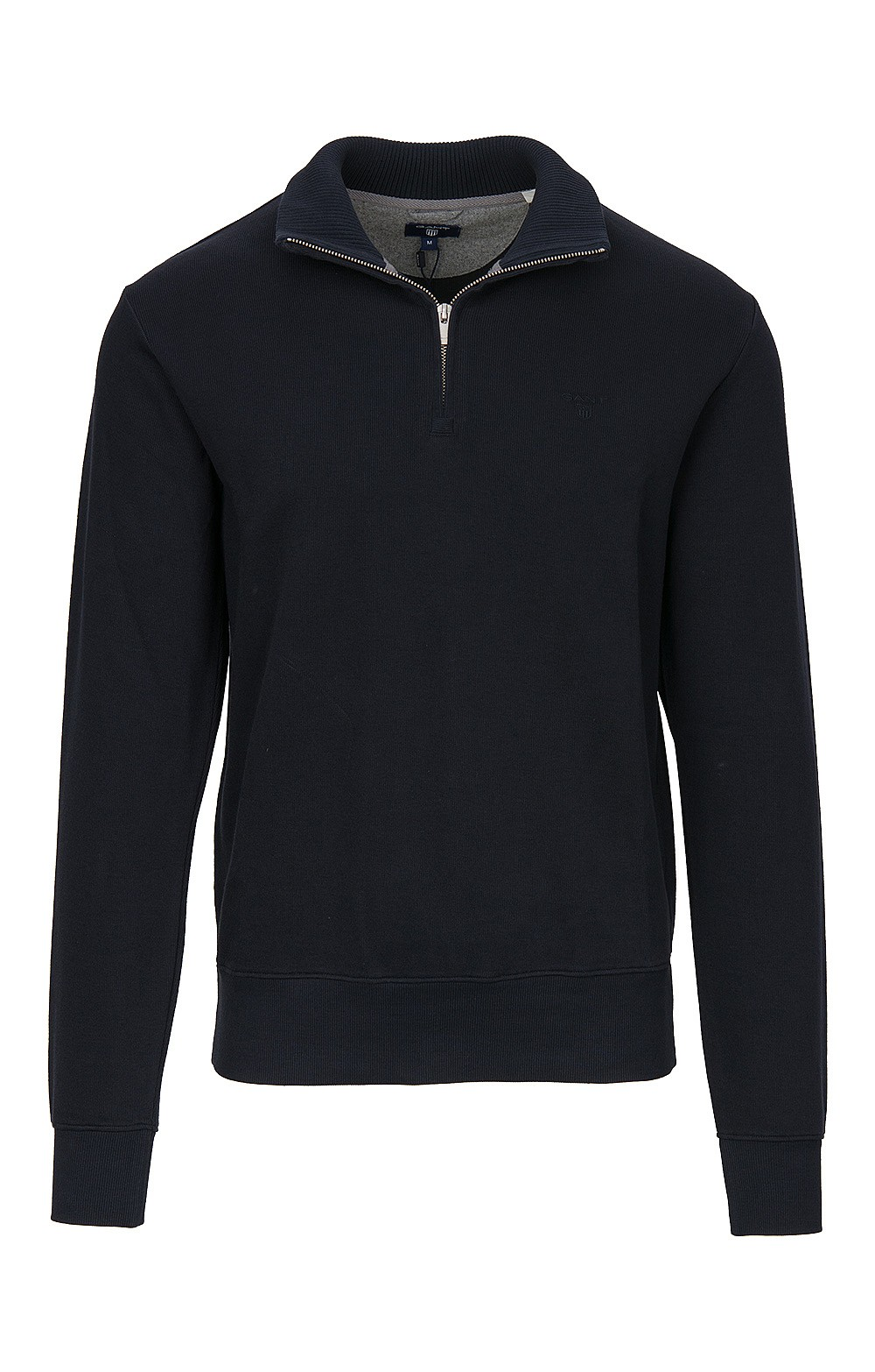 Men s Gant Sacker Rib Half-Zip Sweatshirt - House of Bruar 993cb08ac