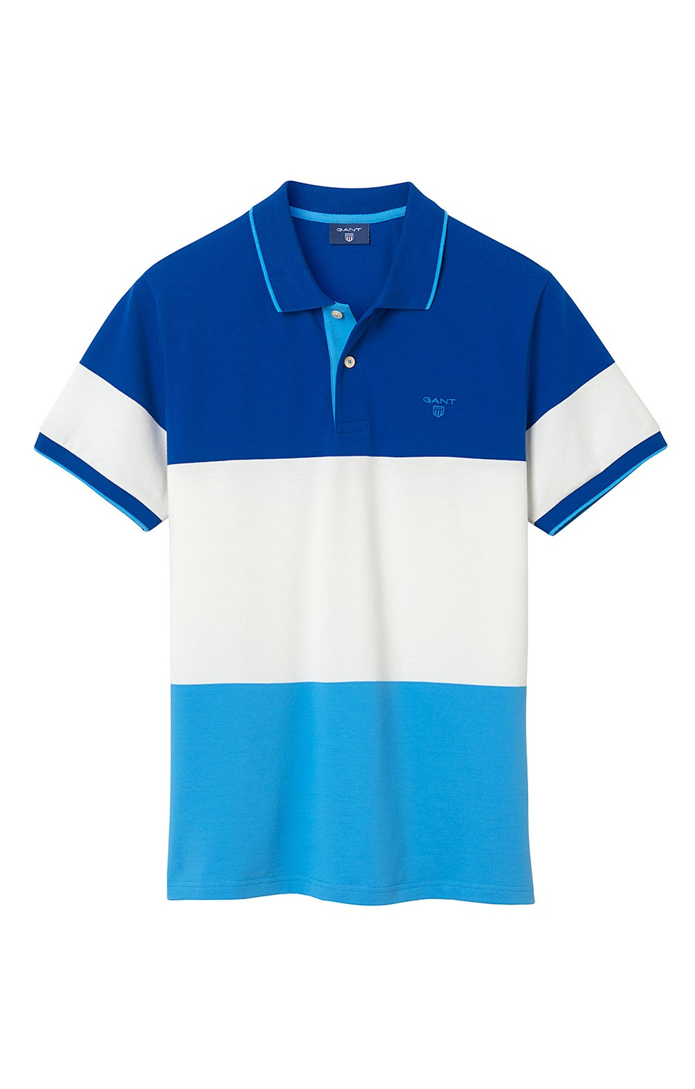 dd599726c1a Gant Colour Block Polo Shirt - House of Bruar