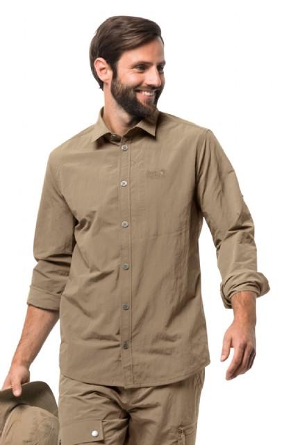 Roll Lakeside Shirt Men's Up Jack Wolfskin I6gYmbf7yv