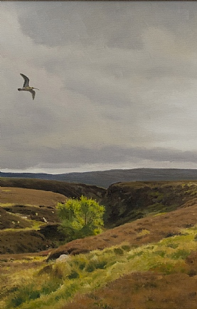 Moorland Spring, Curlew by Ben Hoskyns