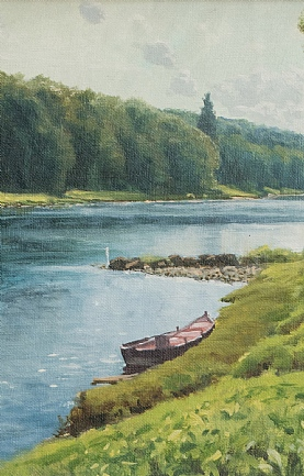The River Tay at Ballathie by Alistair Makinson