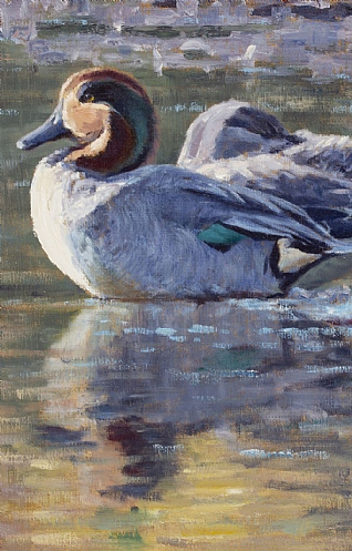 Teal Study by Justin Prigmore