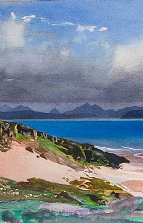 Sandy Bay Applecross by Bob Rudd