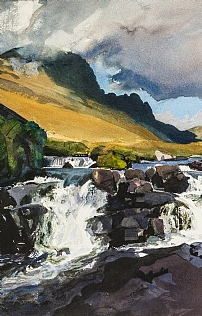Russel Burn Applecross by Bob Rudd