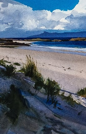Camusdarack Beach, Arisaig by Bob Rudd