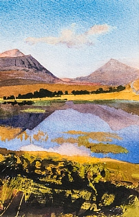 Loch Coultrie and Moine Mhor Shieldaig by Bob Rudd