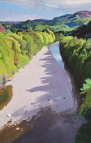 Spring, River Garry by Bob Rudd