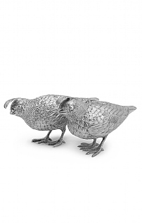 Pair of Quails by Comyns