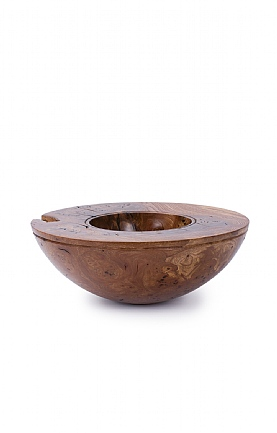 Burr Elm Bowl by Angus Clyne