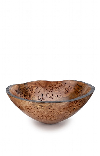 Burnt Rim Burr Elm Bowl (119) by Angus Clyne