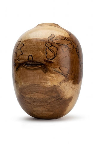 Spalted Beech Vase (15) by Angus Clyne