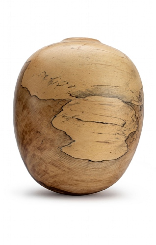 Spalted Beech Vase (145) by Angus Clyne