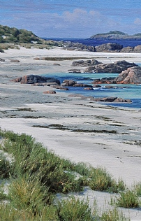 The White Sands of Iona by Peter Symonds