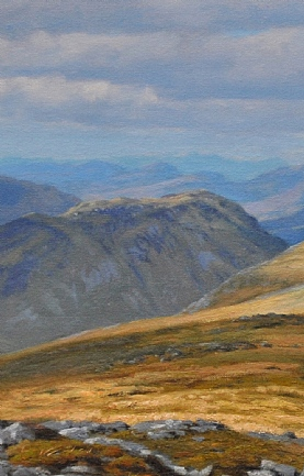 Isle of Skye From Beinn Fhada by Peter Symonds
