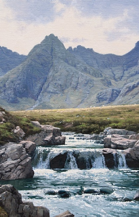 The Fairy Pools, Isle of Skye by Peter Symonds