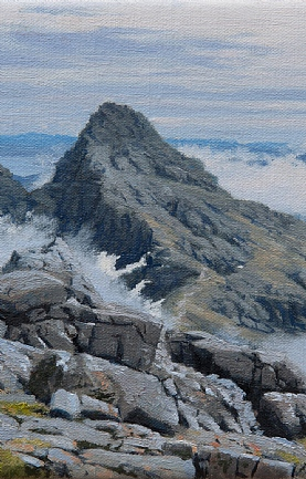 Sgurr nan Gillean from Am Basteir, Isle Of Skye by Peter Symonds