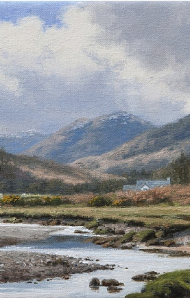 Springtime, Inversanda River, Ardgour, Western Highlands by Peter Symonds