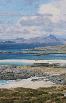 White Sand and Turquoise Sea, Sanna Bay, Ardnamurchan by Peter Symonds