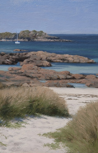 The Bay at the back of the Ocean, Iona by Peter Symonds