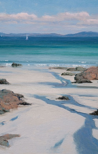 Towards the Far Isles, Iona by Peter Symonds
