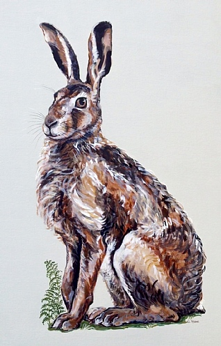 Drove of Hares by Nicola Kevane