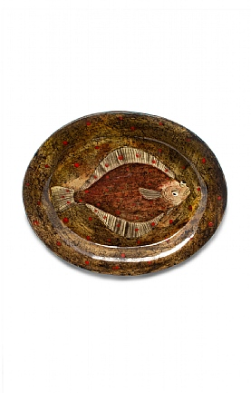 Small Oval Dish by Sophie MacCarthy