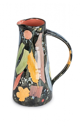 Leaves Jug, Ceramics by Sophie MacCarthy