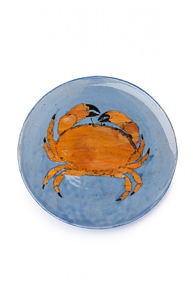 Crab Plate by Sophie MacCarthy