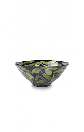 Olives and Leaves Bowl by Sophie MacCarthy