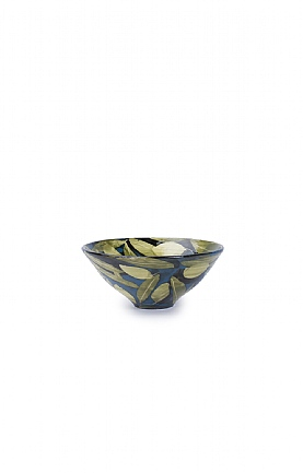 Olives and Leaves Small Bowl by Sophie MacCarthy