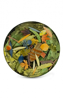 Autumn Leaves Large Plate by Sophie MacCarthy