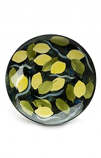 Lemons and Leaves Bowl by Sophie MacCarthy