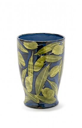 Olives and Leaves Vase by Sophie MacCarthy