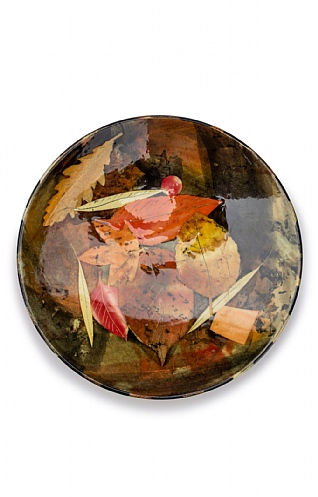 Leaves, Small Plate by Sophie MacCarthy