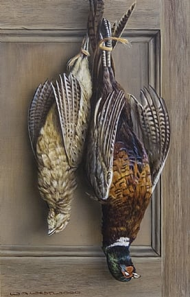 Hanging Pheasant by W.A. Westwood