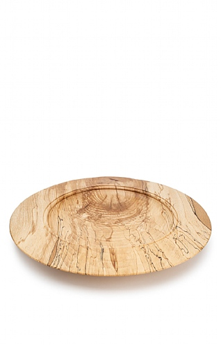 Spalted Beech Large Platter by Fred O'Mahony