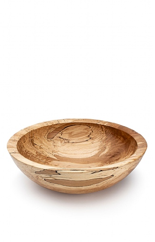 Spalted Beech Large Bowl by Fred O'Mahony