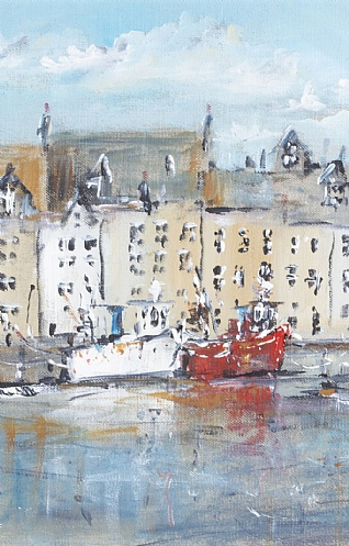 The Harbour, Pittenween, Fife by Mark Holden