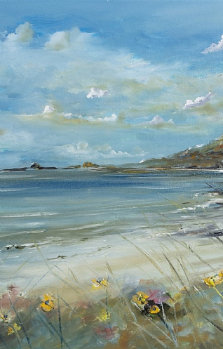 Look out to Sea Iona by Mark Holden