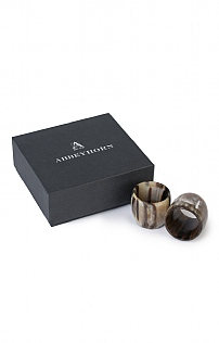 Abbeyhorn Napkin Rings
