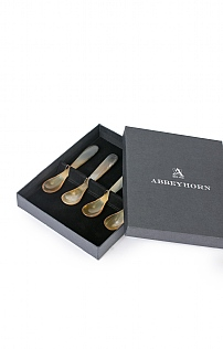 Abbeyhorn Set of 4 Egg Spoons