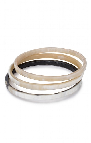 Horn Narrow Bangle