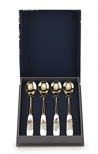 Sara Miller Chelsea Collection Tea Spoons - Set of 4