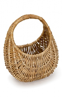 Child's Willow Gondola Basket