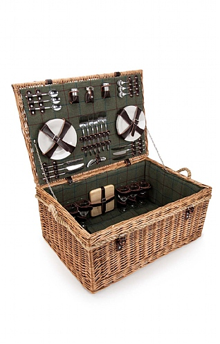 Six Person Deluxe Rope Hamper