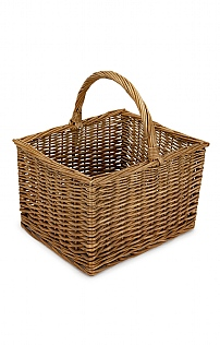 Farmer's Shopper Willow Basket