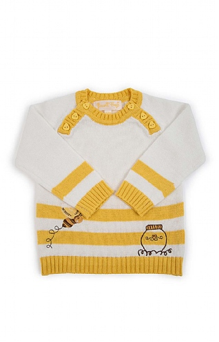 Bumblebee Knitted Baby Jumper